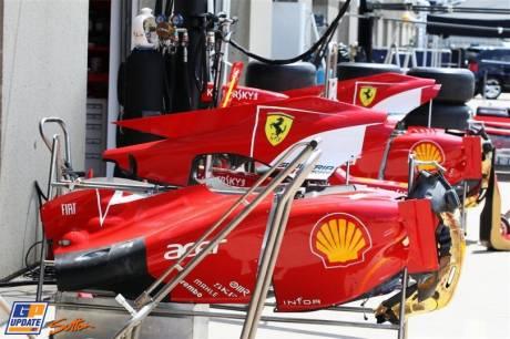 Body Work for the Scuderia Ferrari F2012