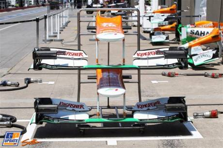 Front Wings for the Force India F1 Team VJM05
