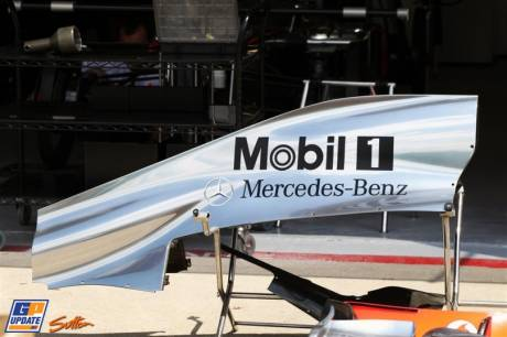 Body Work for the McLaren Mercedes MP4-27