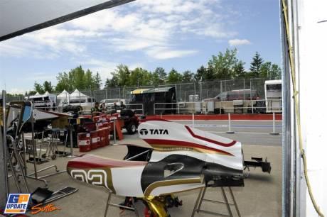 Body Work for the Hispania Racing F1 Team F112
