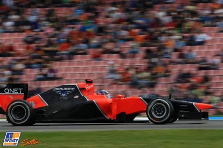 Timo Glock, Marussia F1 Team, MR01