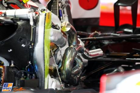 The Engine for the Scuderia Ferrari F2012