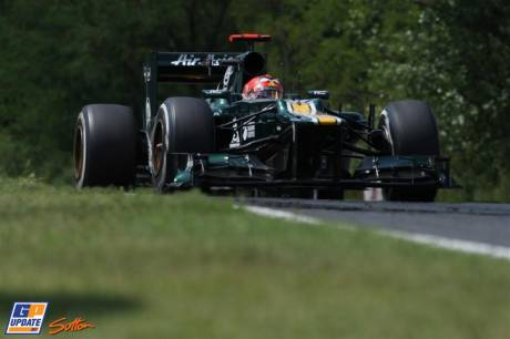 Heikki Kovalainen, Caterham F1 Team, CT01