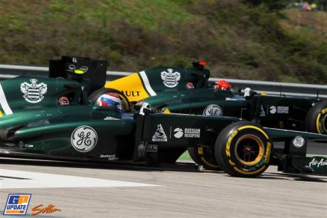 Vitaly Petrov and Heikki Kovalainen, Caterham F1 Team, CT01