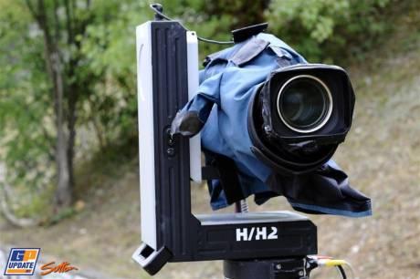 A Camera alongside the Circuit