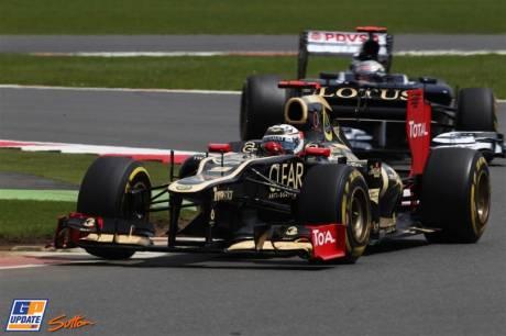 Kimi Raikkonen, Lotus F1 Team, E20