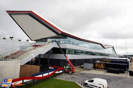 The new Pit Complex at Silverstone Circuit