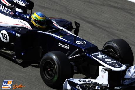 Bruno Senna, Williams F1 Team, FW34