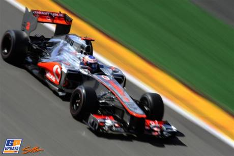 Jenson Button, McLaren Mercedes, MP4-27
