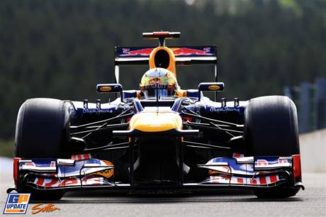 Sebastian Vettel, Red Bull Racing, RB8