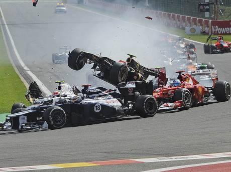 Statistics Belgian Grand Prix of 2012