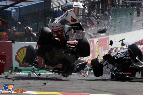 The Crash in the First Corner