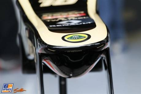 Detail of the Nose Cone for the Lotus F1 Team E21
