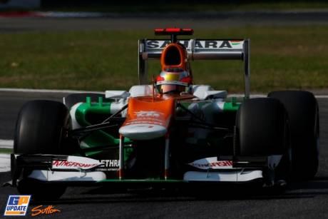 Jules Bianchi, Force India F1 Team, VJM05
