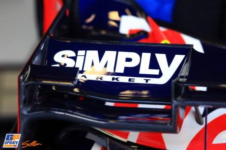 Front Wing Endplate for the Red Bull Racing RB8