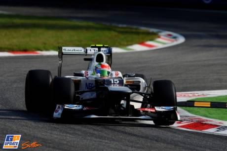 Sergio Perez, Sauber F1 Team, C31