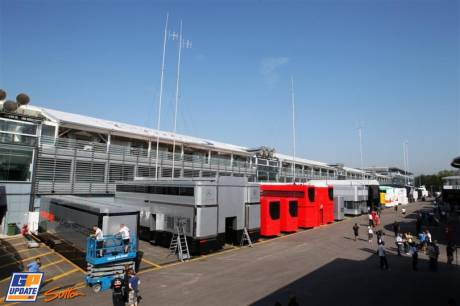 The Paddock in Monza