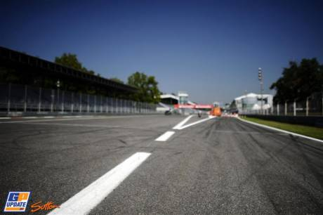 The Pit Entrance in Monza