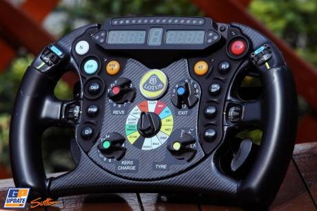 The Steering Wheel for the Lotus F1 Team E21