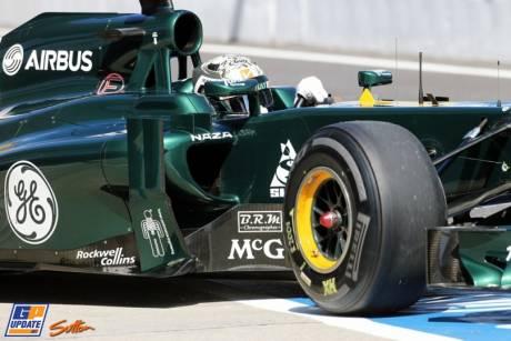 Giedo van der Garde, Caterham F1 Team, CT01