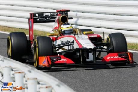 Pedro de la Rosa, Hispania Racing F1 Team, F112