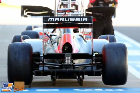 The Marussia F1 Team MR01