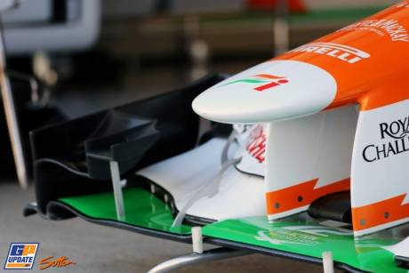 A Front Wing for the Force India F1 Team VJM05