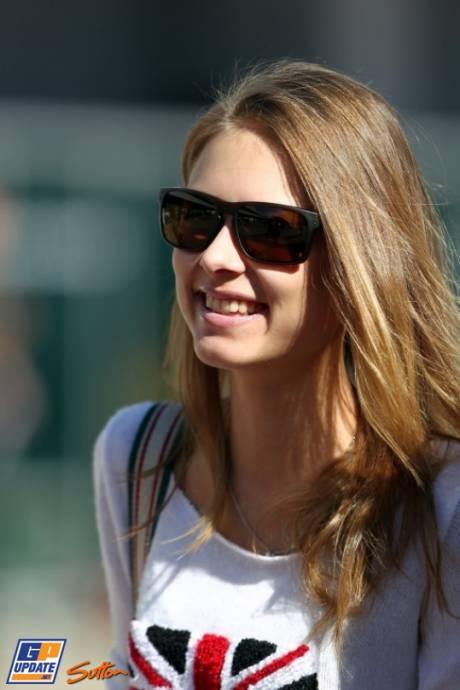 The Girlfriend of Fernando Alonso