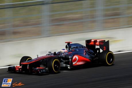 Jenson Button, McLaren Mercedes, MP4-27