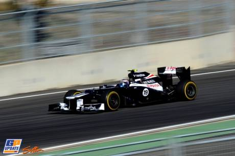 Valtteri Bottas, Williams F1 Team, FW34