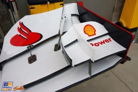 Front Wing End Plate for Scuderia Ferrari F2012