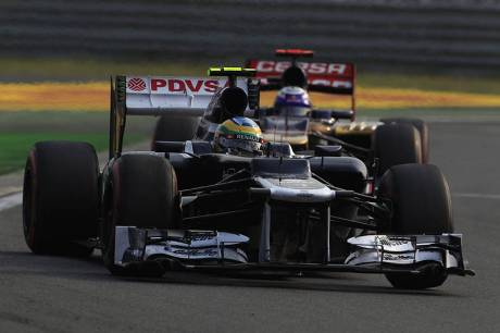 Statistics Korean Grand Prix of 2012