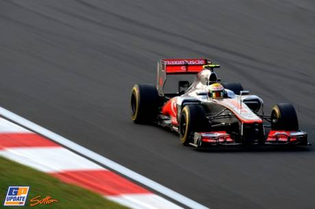 Lewis Hamilton, McLaren Mercedes, MP4-27