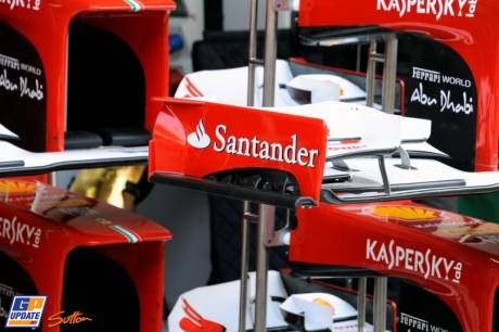 Front Wings for the Scuderia Ferrari F2012