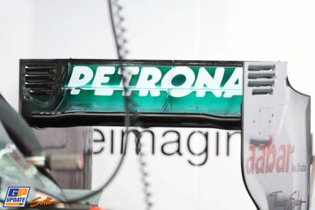 Rear Wing for the Mercedes AMG F1 Team W03