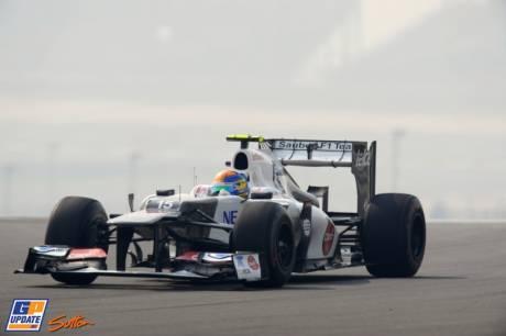 Esteban Gutiérrez, Sauber F1 Team, C31