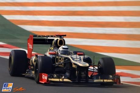 Kimi Räikkönen, Lotus F1 Team, E20