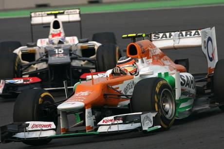 Statistics Indian Grand Prix of 2012