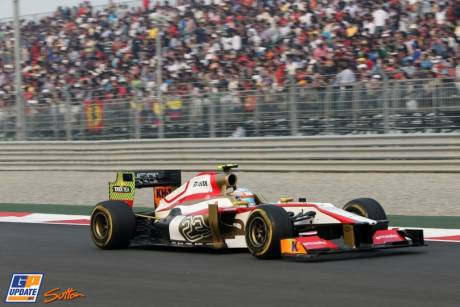 Narian Karthikeyan, Hispania Racing F1 Team, F112