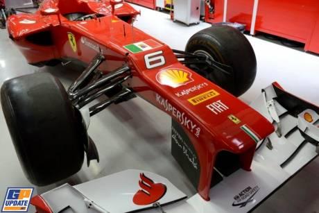 The Scuderia Ferrari F2012