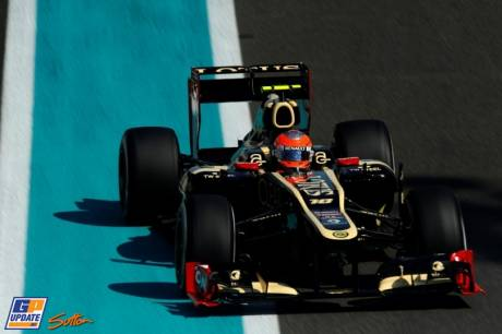 Romain Grosjean, Lotus F1 Team, E20