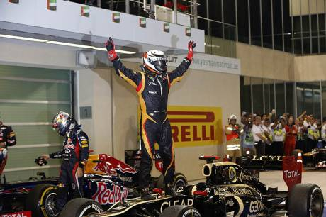 Statistics Abu Dhabi Grand Prix of 2012