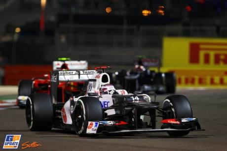 Kamui Kobayashi, Sauber F1 Team, C31