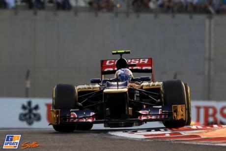 Jean-Eric Vergne, Sccuderia Toro Rosso, STR7