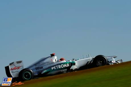 Michael Schumacher, Mercedes AMG F1 Team, W03