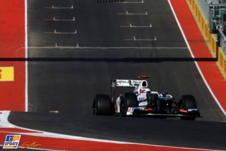 Kamui Kobayashi, Sauber F1 Tea, C31