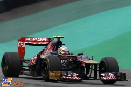 Jean-Eric Vergne, Scuderia Toro Rosso, STR7