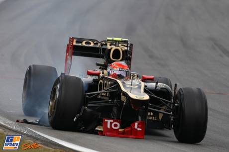 Romain Grosjes, Lotus F1 Team, E20