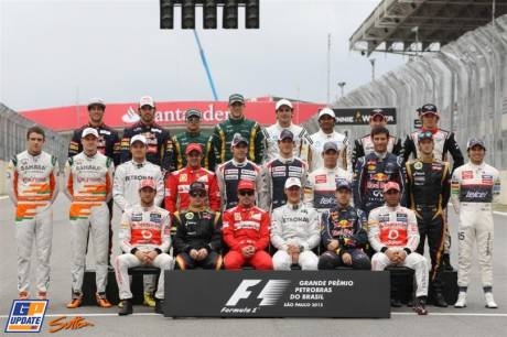The FIA Formula 1 Driver's of 2012