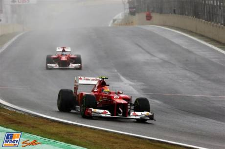 Felipe Massa and Fernando Alonso (Scuderia Ferrari, F2012)
